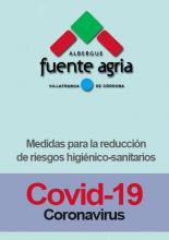Portada medidas para la reducción de riesgos higiénico-sanitarios por coronavirus SARS-CoV-2